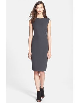 ribbed-pencil-dress by vince