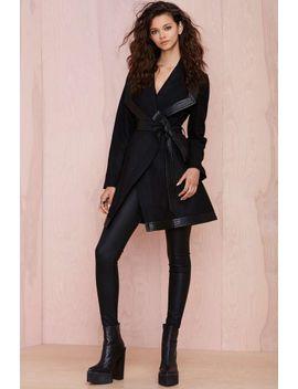 "<Span Itemprop=""Name"">Nasty Gal Isadora Coat</Span> by Nasty Gal"