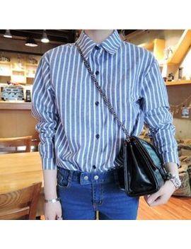 long-sleeve-stripe-shirt by qz-lady