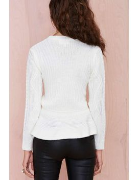 """<Span Itemprop=""""Name"""">So Heated Sweater</Span> by Nasty Gal"""