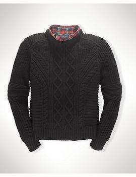 merino-wool-pullover-sweater by ralph-lauren