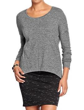womens-hi-lo-sweater-knit-tops by old-navy