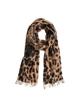 leopard-scarf by jcrew