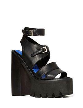 "<Span Itemprop=""Name"">Jeffrey Campbell Wayward Platform   Black</Span> by Nasty Gal"