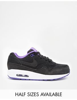 zapatillas-de-deporte-negras-air-max-1-essential-de-nike by asos