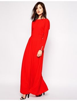 vestido-largo-glamour-de-warehouse by asos