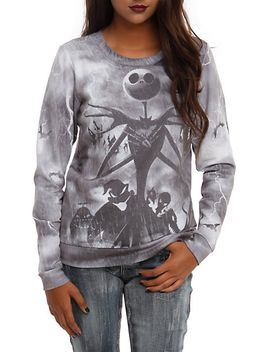 the-nightmare-before-christmas-jack-storm-girls-pullover-top by hot-topic