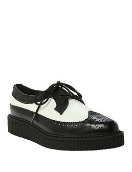 tuk-black-and-white-wingtip-creeper by hot-topic