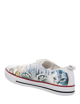 cats-lace-up-sneakers by hot-topic