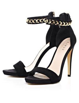 lipsy-mllie-chain-strap-heels by lipsy