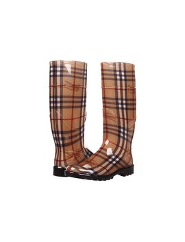 haymarket-check-rainboots by burberry