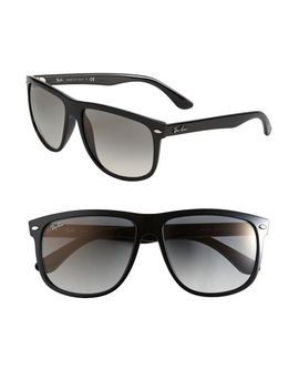 boyfriend-60mm-flat-top-sunglasses by ray-ban