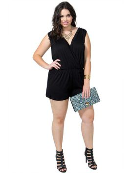 surplice-knit-romper by agaci