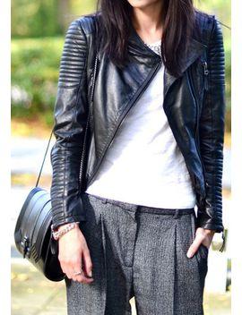 genuine-sheepskin-blazer by lookbook-store