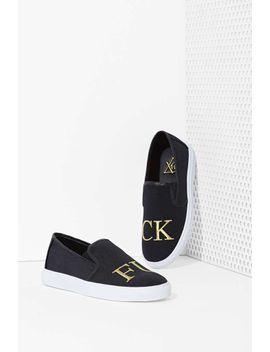 yru-fu-slip-on-sneaker by nasty-gal