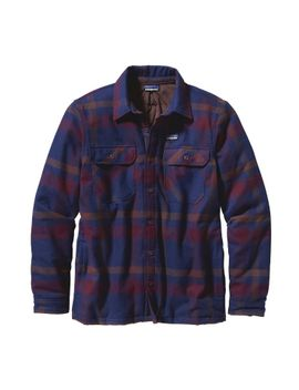 patagonia-mens-insulated-fjord-flannel-jacket by patagonia