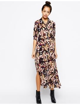 girls-on-film-floral-printed-shirt-dress by girls-on-film