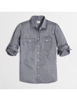 end-on-end-camp-shirt-in-perfect-fit by jcrew