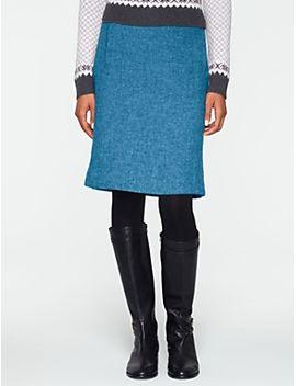 shetland-a-line-skirt by talbots