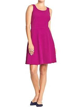 womens-sleeveless-jacquard-dresses by old-navy