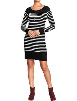 womens-striped-sweater-dresses by old-navy
