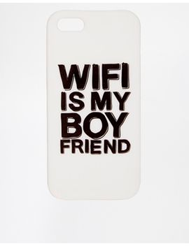 asos-iphone-5-case-with-wifi-is-my-boyfriend-slogan by asos-collection