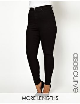 asos-curve-skinny-jean-with-ultra-high-waist by asos-curve