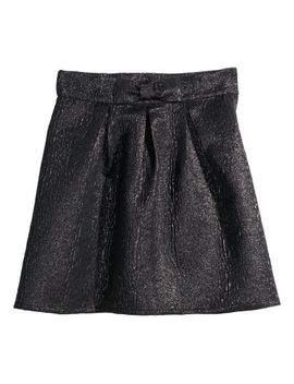 brocade-skirt by h&m