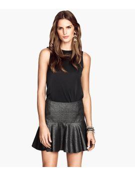 flounced-skirt by h&m