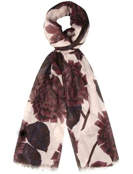 wine-mulberry-flower-scarf by dorothy-perkins