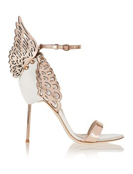 evangeline-metallic-and-patent-leather-sandals by sophia-webster