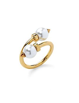 overlapping-pearls-ring by cwonder