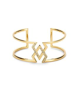 pave-locked-arrowheads-cuff by cwonder