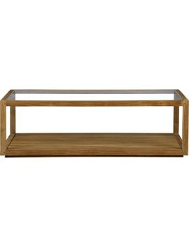 parsons-walnut-top_-dark-steel-base-60x36-large-rectangular-coffee-table by crate&barrel