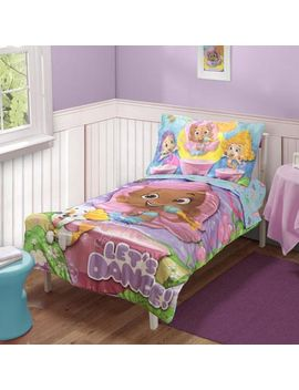 bubble-guppies-4-pc-toddler-bedding-set by nickelodeon