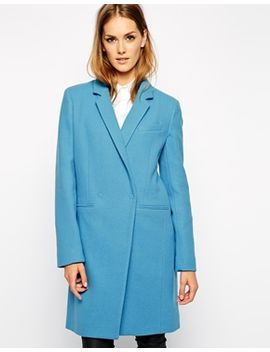 french-connection-imperial-coat-in-wool by french-connection
