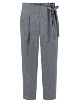 gray-high-waist-ruched-pants-with-tie-side by choies