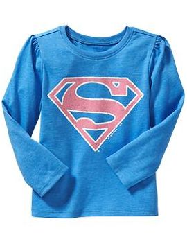 dc-comics™-supergirl-tees-for-baby by old-navy