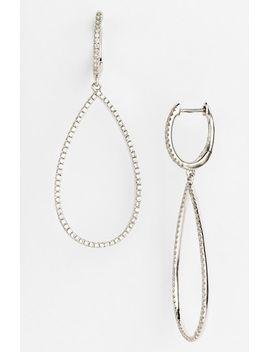 diamond-teardrop-earrings by bony-levy