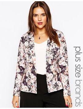 lipstick-boutique-plus-tailored-floral-kimono-jacket by lipstick-boutique-plus