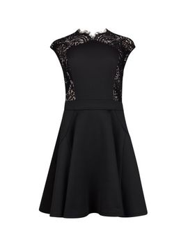 lace-panel-dress by ted-baker