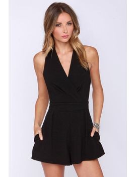 show-must-go-on-black-romper by lulus