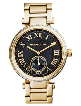 michael-kors-skylar-crystal-bezel-bracelet-watch,-42mm by michael-michael-kors