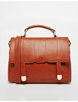asos-scallop-stitch-satchel-bag by asos-collection