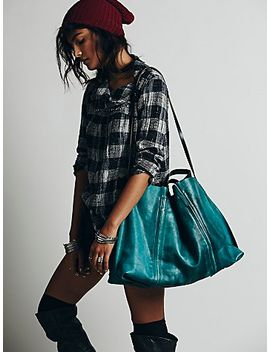 dip-dye-leather-tote by free-people