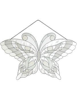 joan-baker-white-butterfly-suncatcher by joan-baker