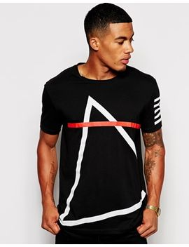asos-t-shirt-with-triangle-print by asos