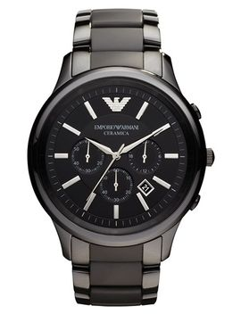large-ceramic-chronograph-watch,-47mm by emporio-armani