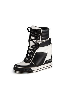 griffin-wedge-sneaker by dkny