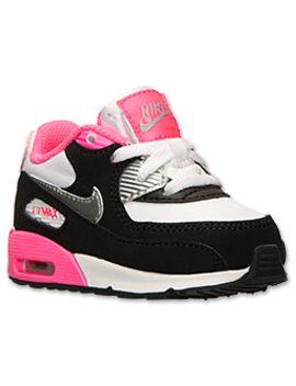 girls-toddler-nike-air-max-90-running-shoes by toddler